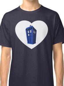 Tardis Heart Classic T-Shirt
