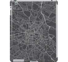 Dublin Map, Ireland - Gray iPad Case/Skin