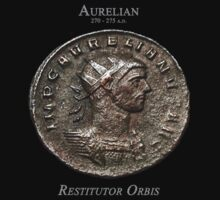 Ancient Roman Coin - RESTITUTOR ORBIS by sixstringphonic