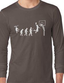Basketball Evolution Funny T Shirt Long Sleeve T-Shirt