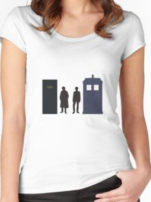 A Study In Time Women's Fitted Scoop T-Shirt