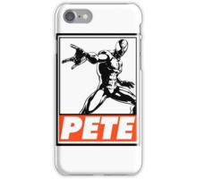 Spider-Man Pete Obey Design iPhone Case/Skin