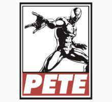Spider-Man Pete Obey Design T-Shirt