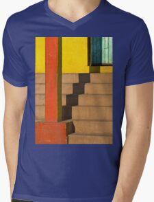 staircase shadow Mens V-Neck T-Shirt