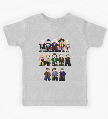Doctor Who - Toy Doctors Kids Tee