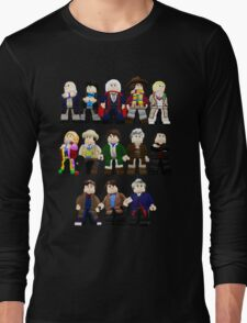 Doctor Who - Toy Doctors Long Sleeve T-Shirt