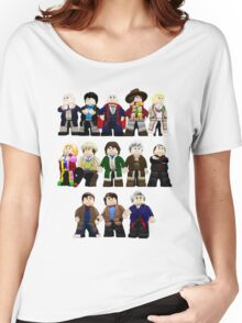 Doctor Who - Toy Doctors Women's Relaxed Fit T-Shirt