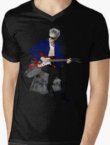 The 12th Doctor and K-9 Mens V-Neck T-Shirt