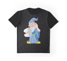 Old Spectacled Mage Graphic T-Shirt