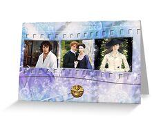 Outlander filmstrip  Greeting Card
