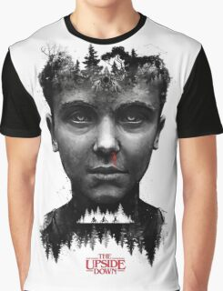 The Upside Down Tribute Painting Art Graphic T-Shirt