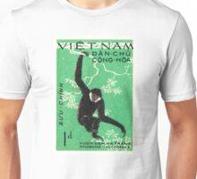 1961 Vietnam Gibbon Postage Stamp Unisex T-Shirt