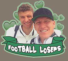 Football Losers - Bastian & Thomas  Photographic Print