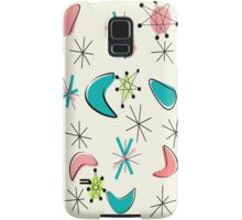 Atomic Inspired Boomerang Design Samsung Galaxy Case/Skin