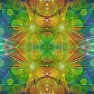 Radiant Beams with Bubbles by Dana Roper
