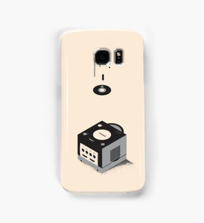 ElectroVideo Gamecube (Black) Samsung Galaxy Case/Skin