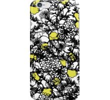 Floral ink print iPhone Case/Skin