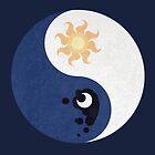 Celestia and Luna Yin Yang by Stephanie Jayne Whitcomb