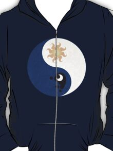 Celestia and Luna Yin Yang T-Shirt