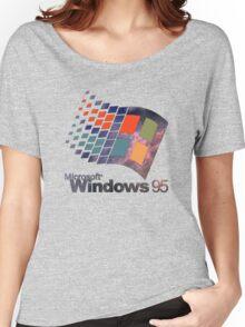 Windows 95 - Galaxy Women's Relaxed Fit T-Shirt