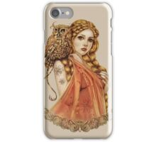 Blodeuwedd Owl Maiden iPhone Case/Skin