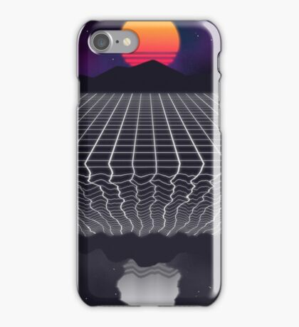 80s Sunset iPhone Case/Skin