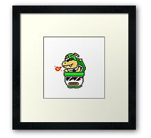 Cool Bowser Jr. Framed Print