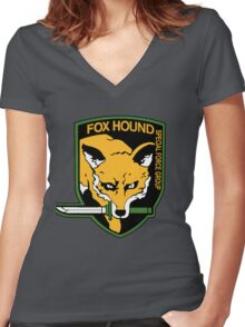 Special force Women's Fitted V-Neck T-Shirt
