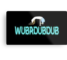 WUBADUBDUB Metal Print