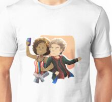 Doctor Who - Selfies through time and space Unisex T-Shirt