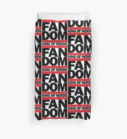 FAN DOM - King of Nerds Duvet Cover