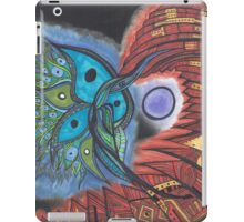 Blue Star Hummingbird iPad Case/Skin