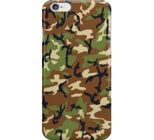 camouflage 1 iPhone Case/Skin
