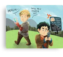 Merlin - Don't forget the herbs Canvas Print