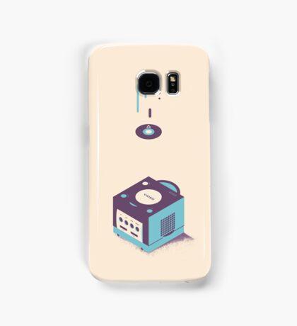 ElectroVideo Gamecube (Blue) Samsung Galaxy Case/Skin