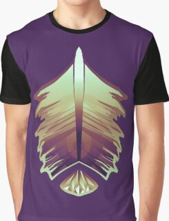 purple sunrise feather and gem Graphic T-Shirt
