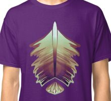 purple sunrise feather and gem Classic T-Shirt