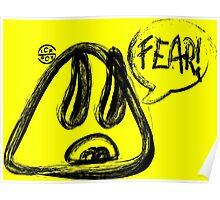 Fear Sketch Poster