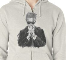 I Am The Doctor Zipped Hoodie