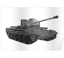Grey Tank Poster