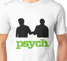 Psych Fist Bump Unisex T-Shirt