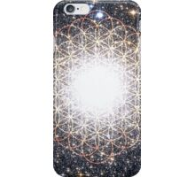 Tree of Life [Orange] | Tight Star Cluster | Sacred Geometry iPhone Case/Skin