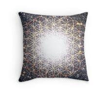 Tree of Life [Orange]   Tight Star Cluster   Sacred Geometry Throw Pillow