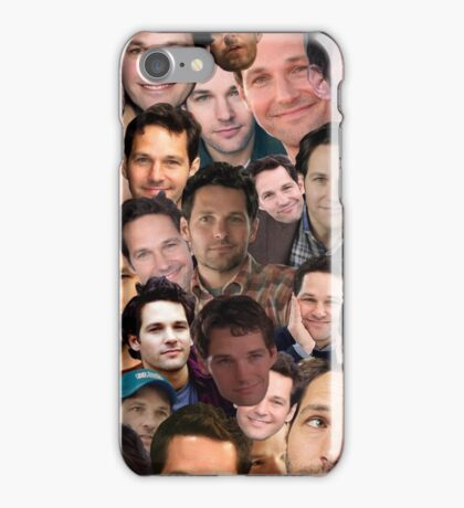Paul Rudd Collage iPhone Case/Skin