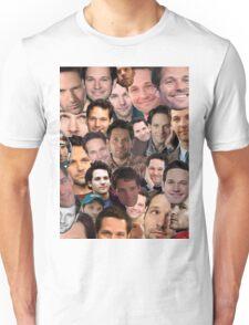 Paul Rudd Collage Unisex T-Shirt