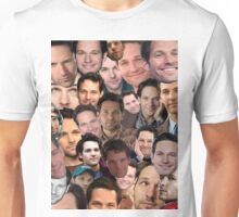 Paul Rudd Collage Unisex T-Shirt