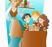 At The Three Broomsticks by Jennifer Mark