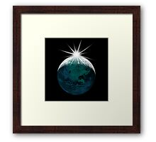 Lunar Planet... Framed Print