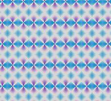 Blue and purple abstract pattern background by ikshvaku