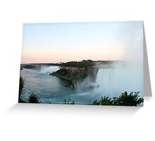 The View of Niagara Falls  Greeting Card